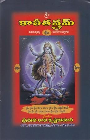 kalee-tantram-telugu-book-by-chintagunta-subbarao